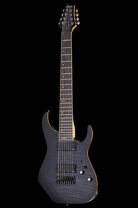 Schecter Diamond Series BANSHEE-8 ACTIVE (Trans Black Burst) [AD-BS-8/A / TBB] 《エレキギター》【送料無料】【ONLINE STORE】