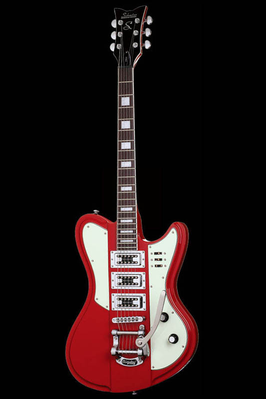 Schecter Diamond Series ULTRA-3 (Vintage Red) [AD-ULTRA-3 / VR] 《エレキギター》【送料無料】【ONLINE STORE】