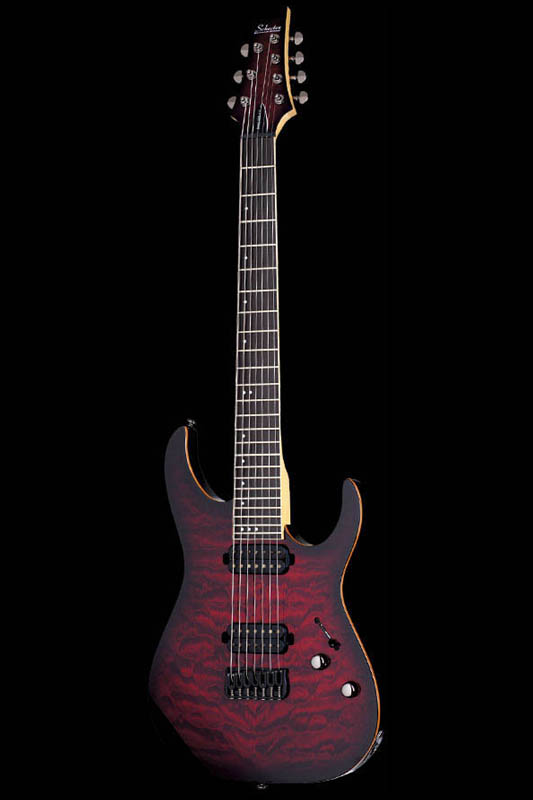 Schecter Diamond Series BANSHEE-7 PASSIVE (Crimson Red Burst) [AD-BS-7/P / CRB] 《エレキギター》【送料無料】【ONLINE STORE】
