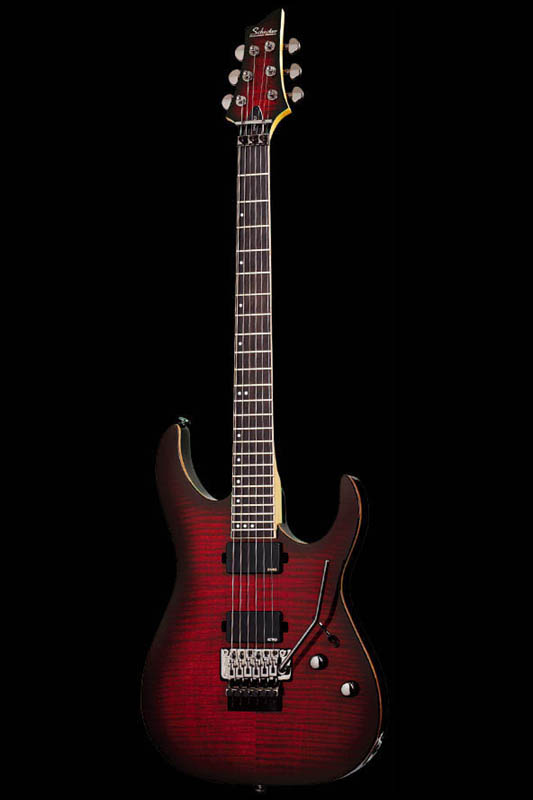 Schecter Diamond Series BANSHEE-6 FR ACTIVE (Crimson Red Burst) [AD-BS-FR/A / CRB] 《エレキギター》【送料無料】【ONLINE STORE】