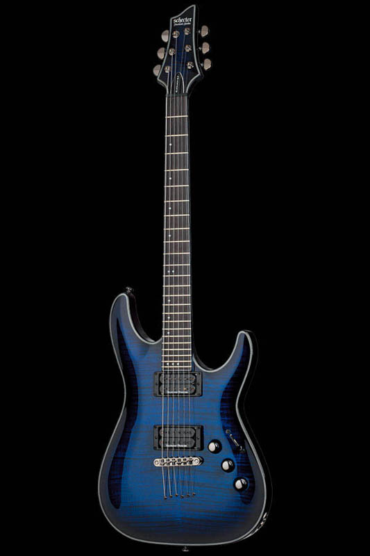 Schecter Diamond Series BLACK JACK SLS C-1 PASSIVE (SEE THRU BLUE BURST with SATIN NECK) [AD-C-1-BJ-SLS/P / STBB] 《エレキギター》【送料無料】【ONLINE STORE】
