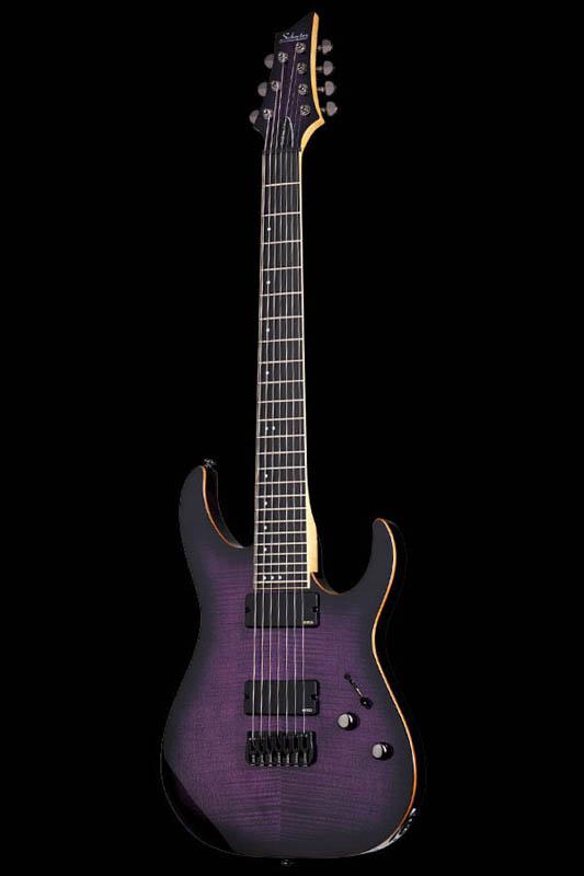 Schecter Diamond Series BANSHEE-7 ACTIVE (Trans Purple Burst) [AD-BS-7/A / TPB] 《エレキギター》【送料無料】【ONLINE STORE】