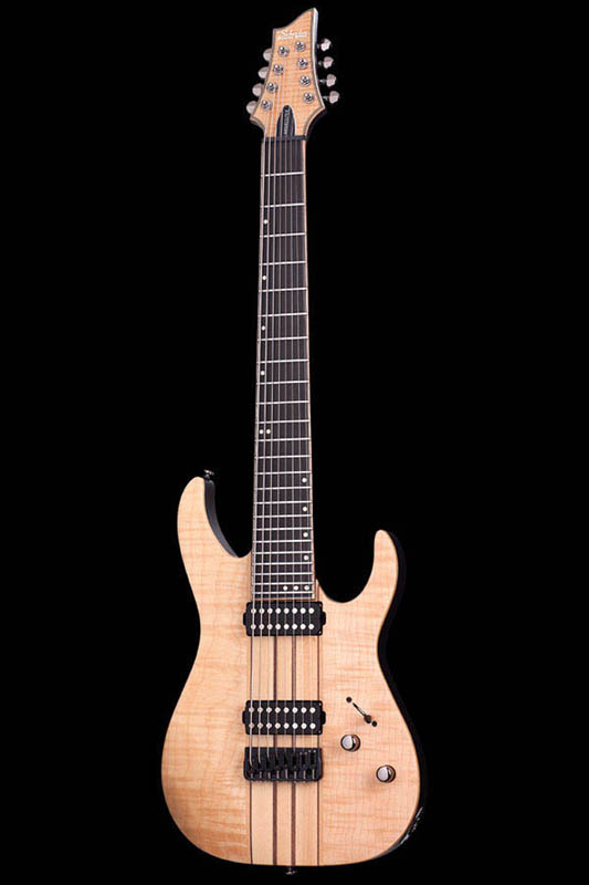 Schecter Diamond Series BANSHEE ELITE 8 (Gloss Naturalw/Trans Black Satin Burst Back & Neck) [AD-BS-EL-8] 《エレキギター》【送料無料】【ONLINE STORE】