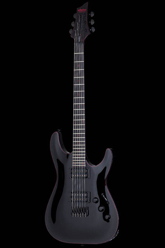 Schecter Diamond Series Black Jack C-1 (Gloss Black) [AD-C-1-BJ-RB / BK] 《エレキギター》【送料無料】【ONLINE STORE】