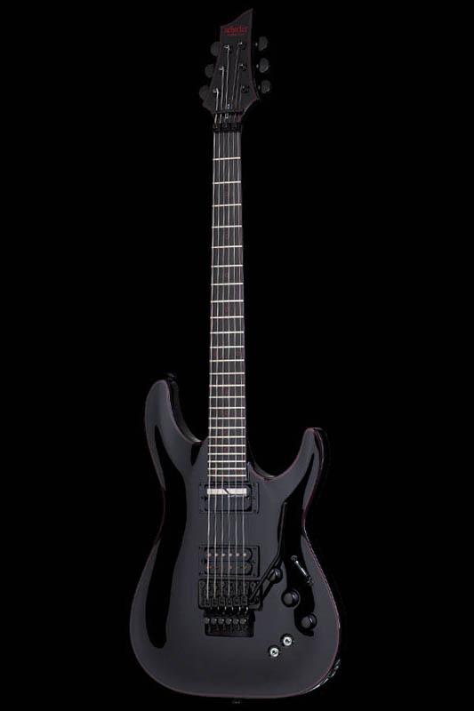 Schecter Diamond Series Black Jack C-1 FRS (Gloss Black) [AD-C-1-FR-BJ-RB/SN / BK] 《エレキギター》【送料無料】【ONLINE STORE】