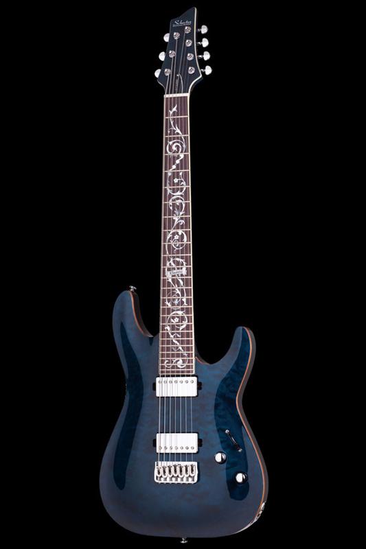 Schecter Diamond Series C-7 CLASSIC (Trans Blue) [AD-C-7-CL / TBLU] 《エレキギター》【送料無料】【ONLINE STORE】