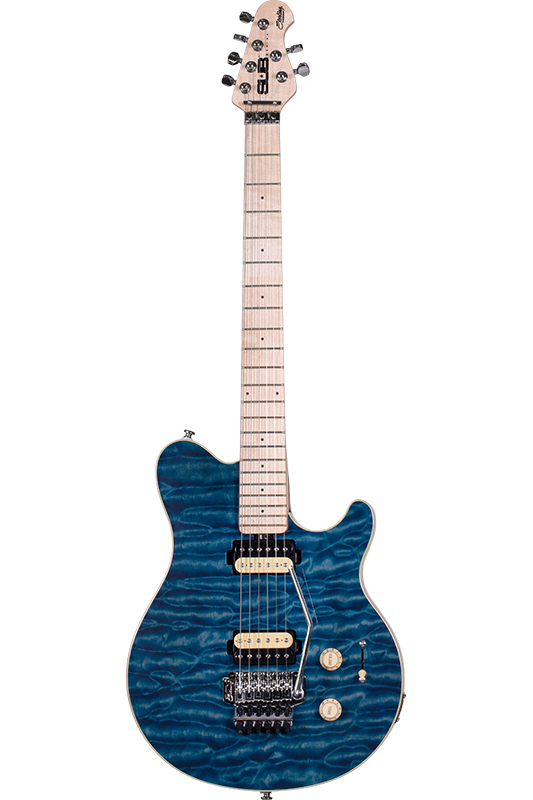 Sterling by MUSIC MAN AX4 (Translucent Blue)