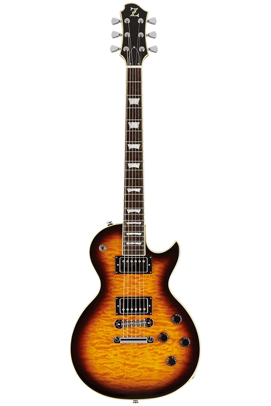 Zemaitis Z Limited Edition Z22QS BSB (Brown Sunburst) 《エレキギター》【送料無料】【ONLINE STORE】