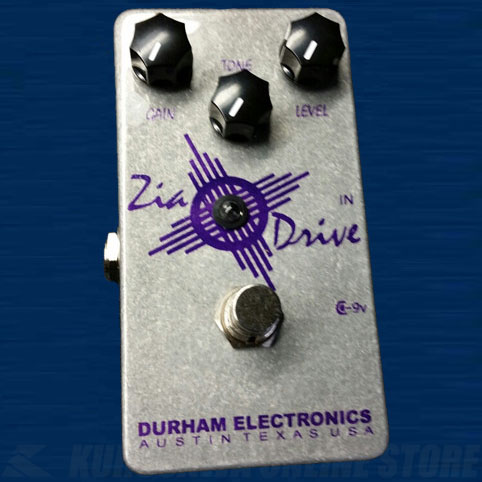 Durham Electronics Zia Drive 《エフェクター/オーバードライブ》【送料無料】【ONLINE STORE】