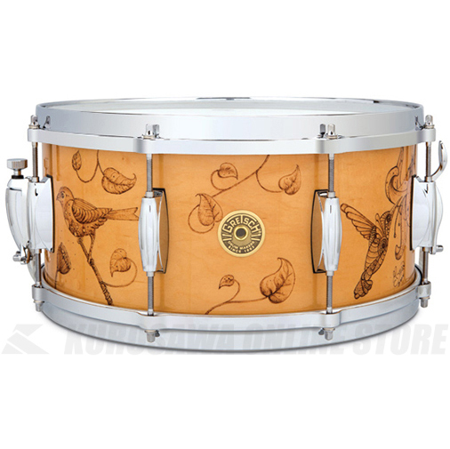 Gretsch Drums C-65148S WB3 HUMMINGBIRD《スネアドラム》【送料無料】【ONLINE STORE】