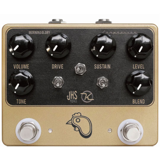 JHS Pedals & Keeley Electronics Steak & Eggs 《エフェクター/オーバードライブ、コンプレッサー》【送料無料】【ONLINE STORE】
