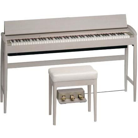 Roland カリモク家具 きよら(KIYOLA) KF-10-KS(シアーホワイト) 《デジタルピアノ》【送料無料】【ONLINE STORE】