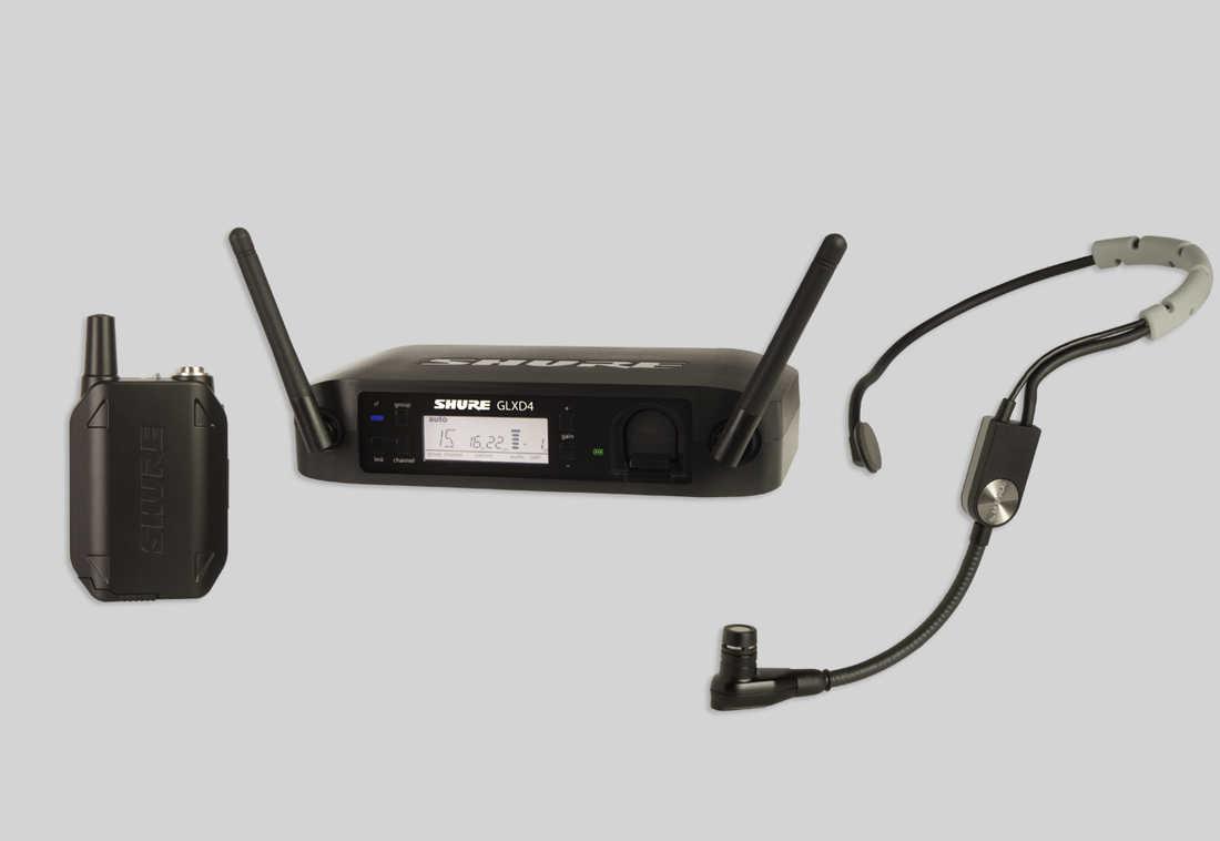 SHURE GLX-D Baggable Systems GLXD14/SM35 ヘッドセット ワイヤレス システム [GLXD14J/SM35] 【送料無料】【ONLINE STORE】