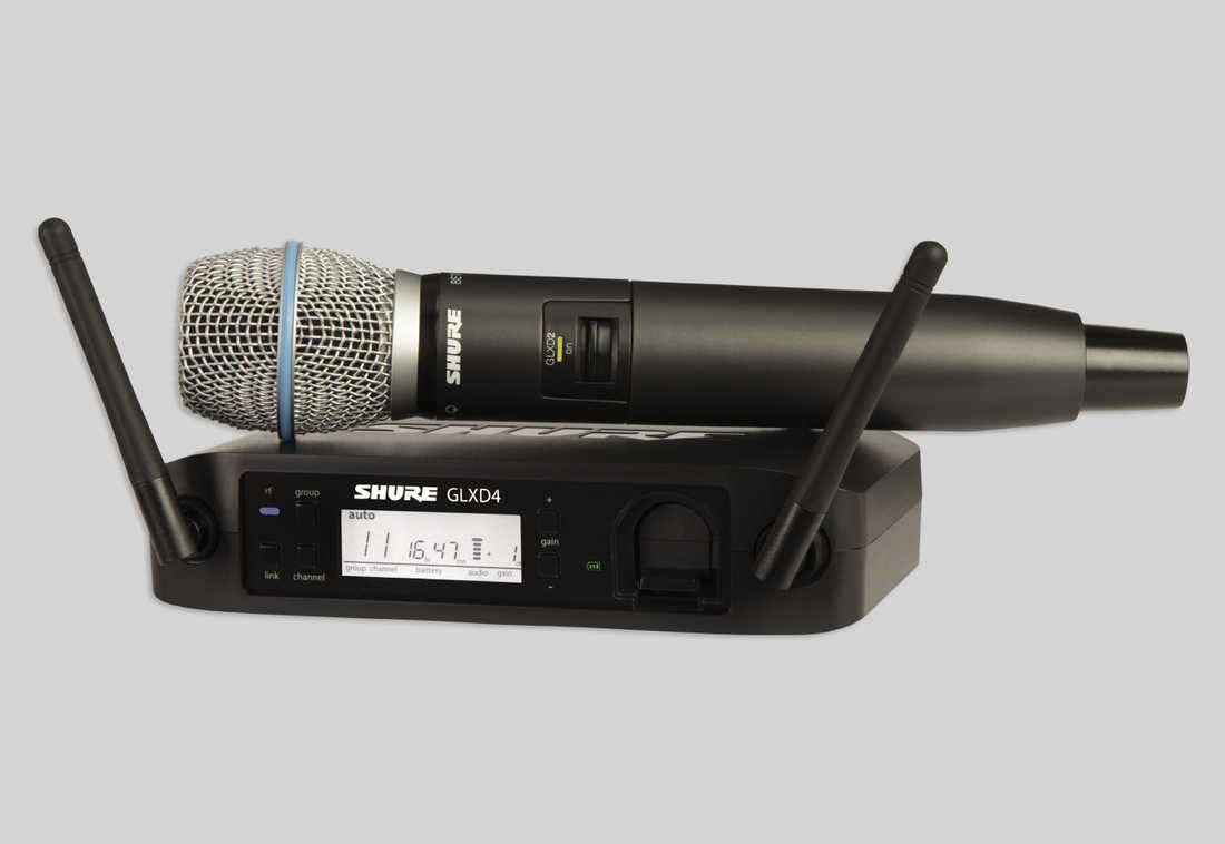 SHURE GLX-D Baggable Baggable Systems [GLXD24/B87A] GLXD24/BETA 87A 87A ハンドヘルド型ワイヤレスシステム [GLXD24/B87A]【送料無料】【ONLINE STORE】, L.A.Select P.C.H.:0feedad5 --- cognitivebots.ai