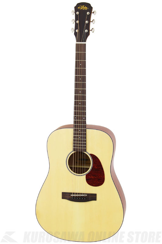 Aria 100 series Aria-111 Dreadnought MTN (Natural, Matt)《アコースティックギター》【送料無料】【ONLINE STORE】