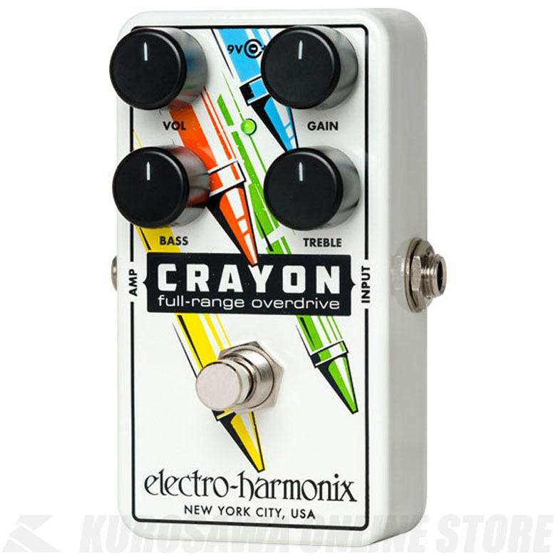 Electro Harmonix Crayon (White)《エフェクター/オーバードライブ》【送料無料】【G-CLUB渋谷】