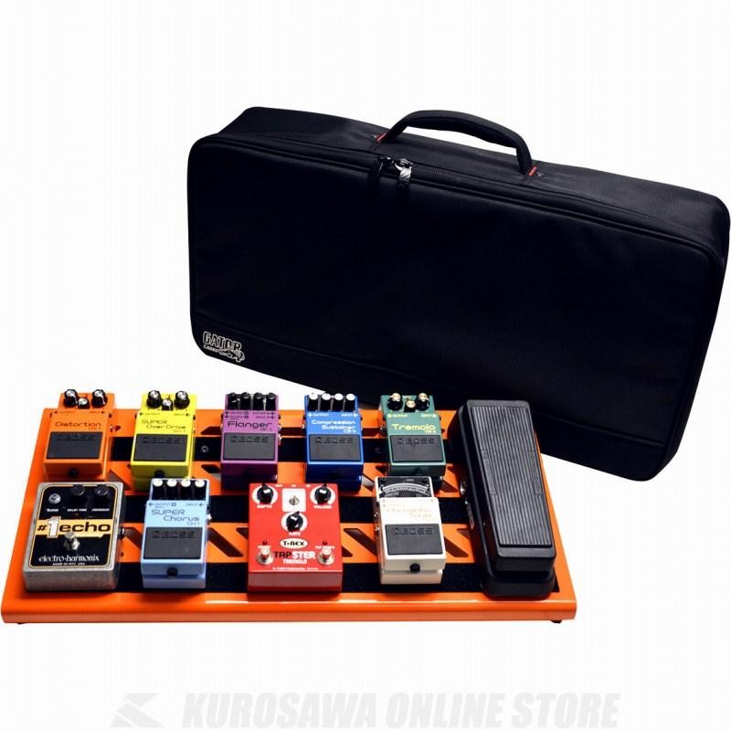 GATOR GPB-BAK-OR ボード付きエフェクターキャリーバッグ オレンジ【送料無料】【ONLINE STORE】