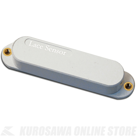 LACE MUSIC PICKUPS Single-Coil size Lace Sensor Silver (WHITE) 《ピックアップ/シングルコイルタイプ》【送料無料】【ONLINE STORE】