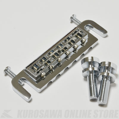 Montreux Selected Parts / custom wrap around bridge Chrome [9127] 《パーツ・アクセサリー / テイルピース》【送料無料】【ONLINE STORE】