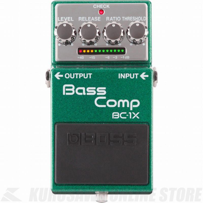 BOSS BC-1X Bass Comp 《エフェクター/ベース用コンプレッサー 》 【送料無料】【ONLINE STORE】