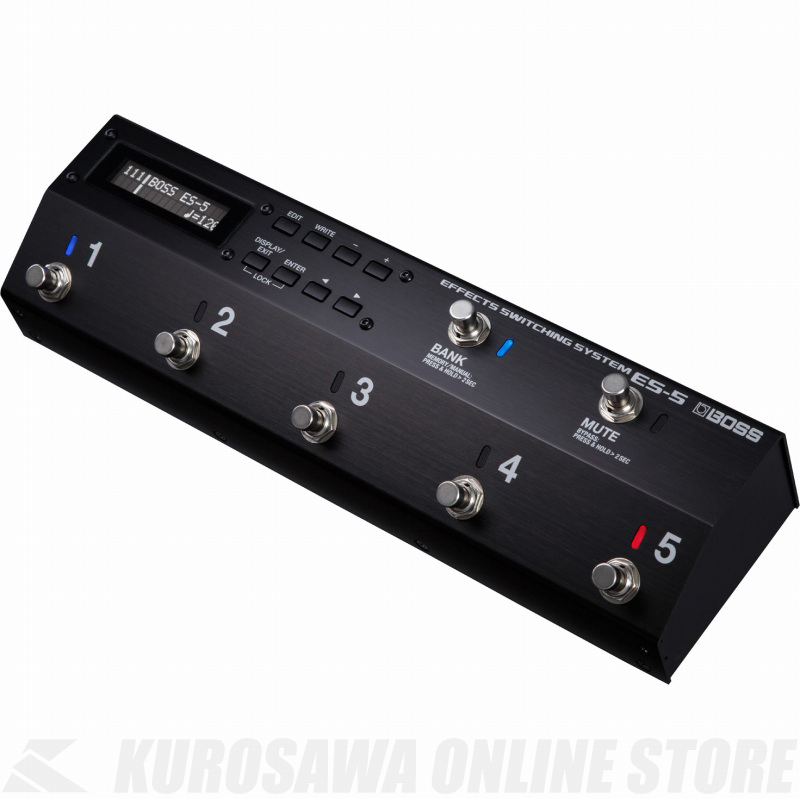 BOSS ES-5 Effects Switching System 《エフェクター関連 /スイッチャー 》 【送料無料】(ご予約受付中)【ONLINE STORE】