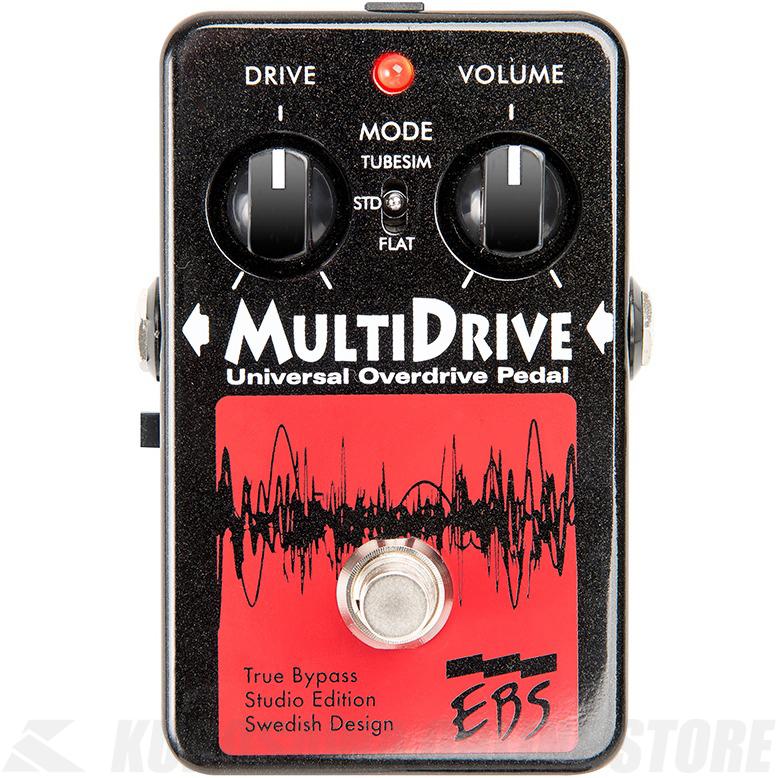 EBS MultiDrive Studio Edition《ベース用エフェクター/オーバードライブ》【送料無料】【G-CLUB渋谷】