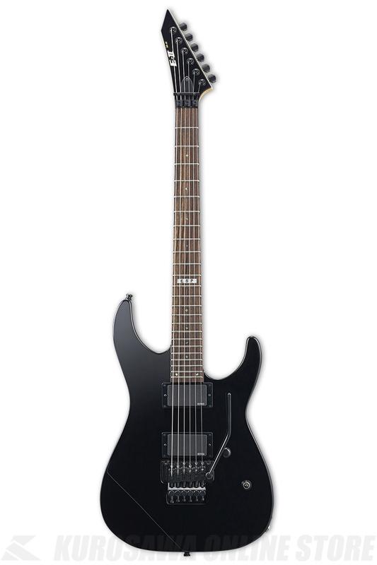 E-II M-II NECK THRU BLK(Black)《エレキギター》【送料無料】【受注生産品】【ONLINE STORE】