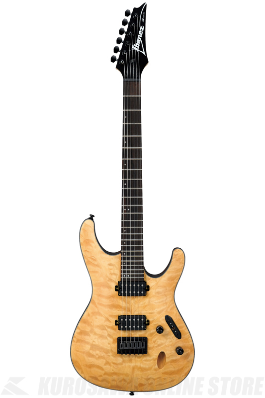 Ibanez S Series S621QM-VNF (Vintage Natural Flat) 《エレキギター》[S621QM-VNF]【送料無料】【ONLINE STORE】