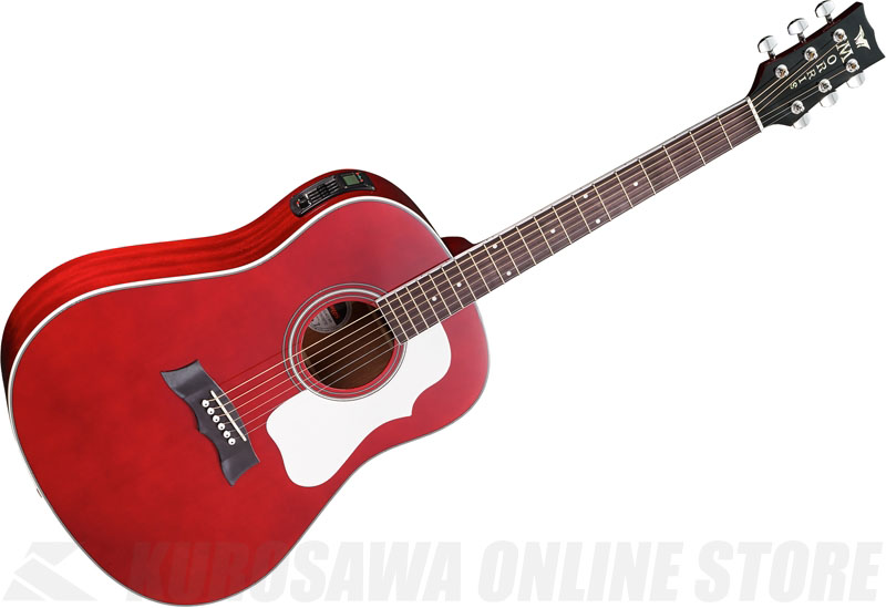Morris PERFORMERS EDITION G-401 WR (ワインレッド)《アコースティックギター》【送料無料】【ONLINE STORE】