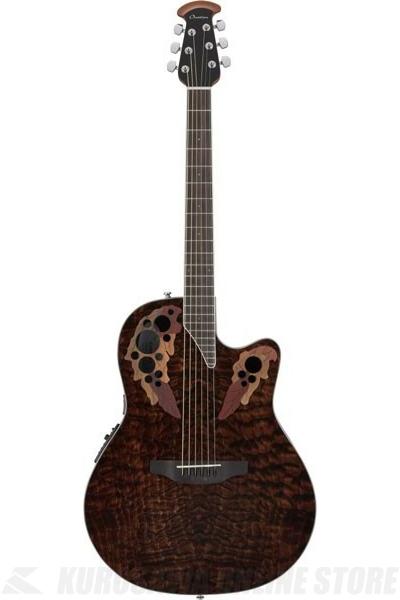 Ovation Celebrity Elite Plus Super Shallow Body CE48P-TGE(Tiger Eye)《アコースティックギター/エレアコ》【送料無料】【ONLINE STORE】(ご予約受付中)