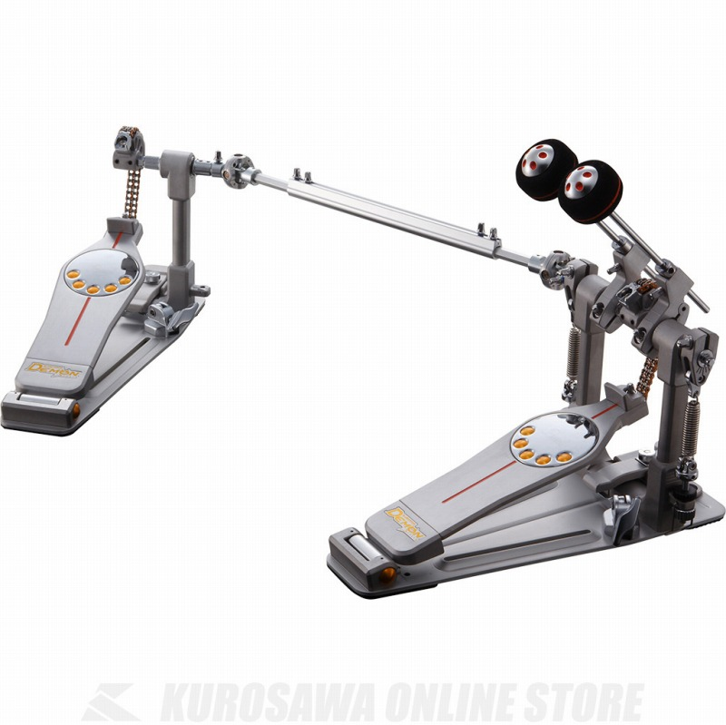 Pearl Demon Chain Double Pedal P-3002C 《キックペダル/ツインペダルコンプリートセット》【送料無料】【ONLINE STORE】