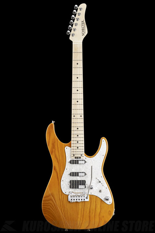SCHECTER BH-1-STD-24 AMB (Amber / Maple) 《エレキギター》【送料無料】【ONLINE STORE】