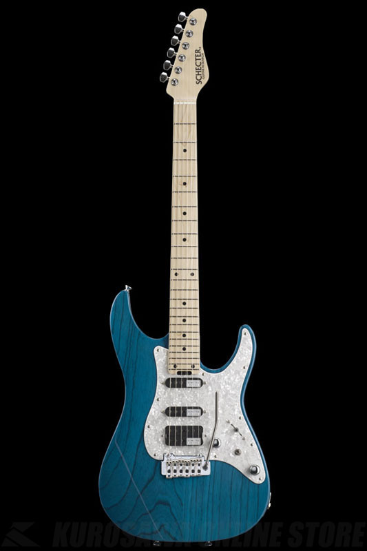 SCHECTER BH-1-STD-24 ILB (Indigo Light Blue / Maple) 《エレキギター》【送料無料】(ご予約受付中)【ONLINE STORE】