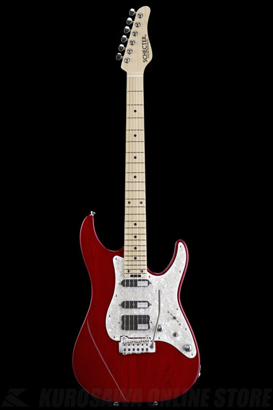 SCHECTER BH-1-STD-24 RED (See-thru Red / Maple) 《エレキギター》【送料無料】【ONLINE STORE】