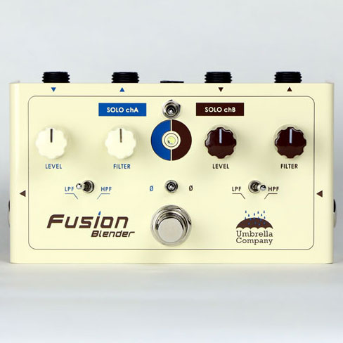 Umbrella Company Fusion Blender Creative mixer / spliter pedal 《スプリット&ミックスペダル》【送料無料】【ONLINE STORE】