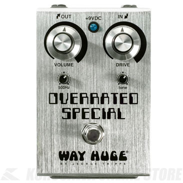 Way Huge WHE208 Overrated Special Overdrive 《エフェクター/オーバードライブ》 【ONLINE STORE】【数量限定特価】
