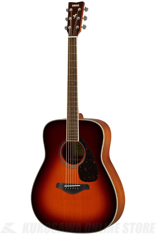 YAMAHA FG820 BS (ブラウンサンバースト) 《アコースティックギター》 【送料無料】(ご予約受付中)