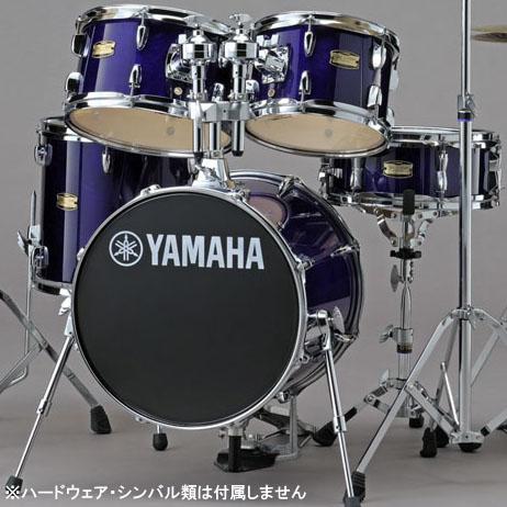 YAMAHA コンパクトドラムキット ジュニアキット 小口径5点セット Manu Katche Model Junior Kit [JK6F5DV](ディープバイオレット)【送料無料】【ONLINE STORE】