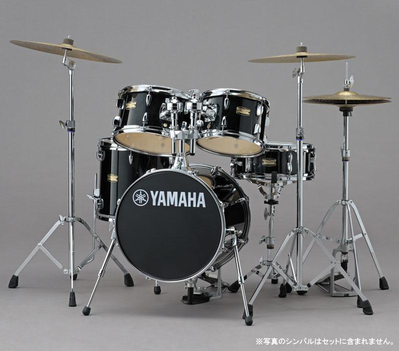 YAMAHA コンパクトドラムキット ジュニアキット+ 専用ハードウェアセット Manu Katche Model Junior Kit [JK6F5RB/HWJK](レーベンブラック)【送料無料】【ONLINE STORE】