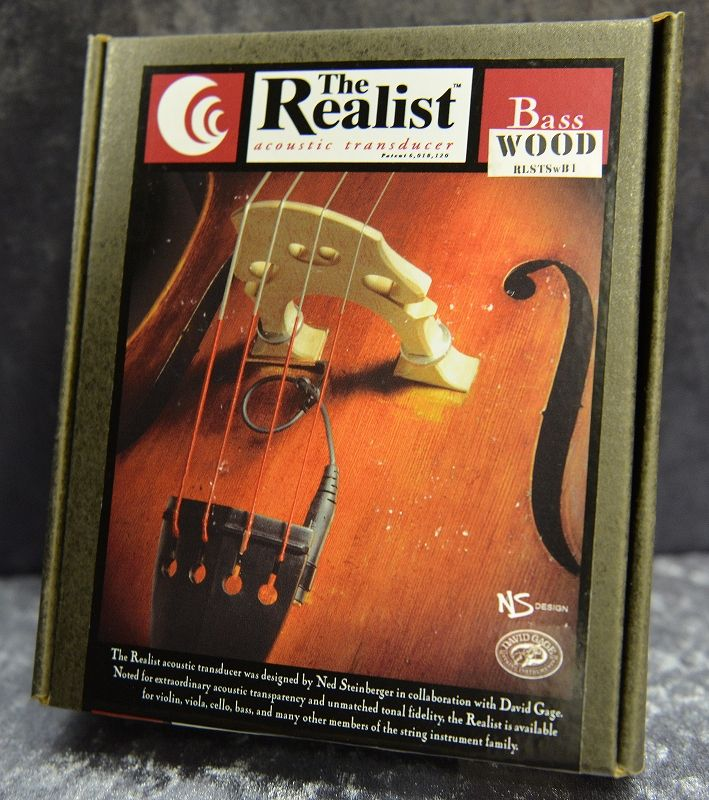 David Gage ''The Realist''【Wood】【新品】【日本総本店在庫品】