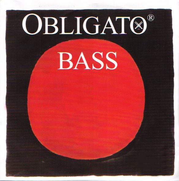 Pirastro ''OBLIGATO BASS''【5H】【新品】【日本総本店在庫品】