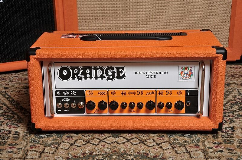 ORANGE ROCKERVERB 100 MKIII HEAD-Orange-【NEW】【新品】【日本総本店在庫品】