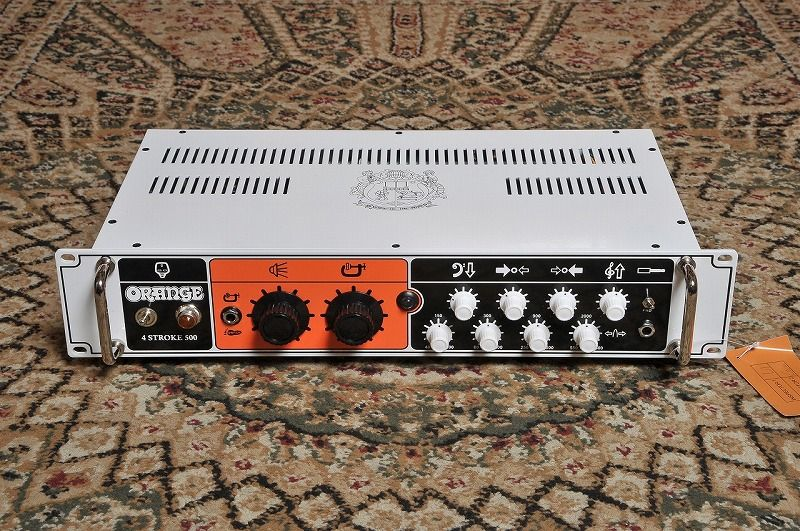 ORANGE 4-Stroke 500 Bass guitar Amplifier head 500W 【送料無料】【NEW】【新品】【日本総本店在庫品】