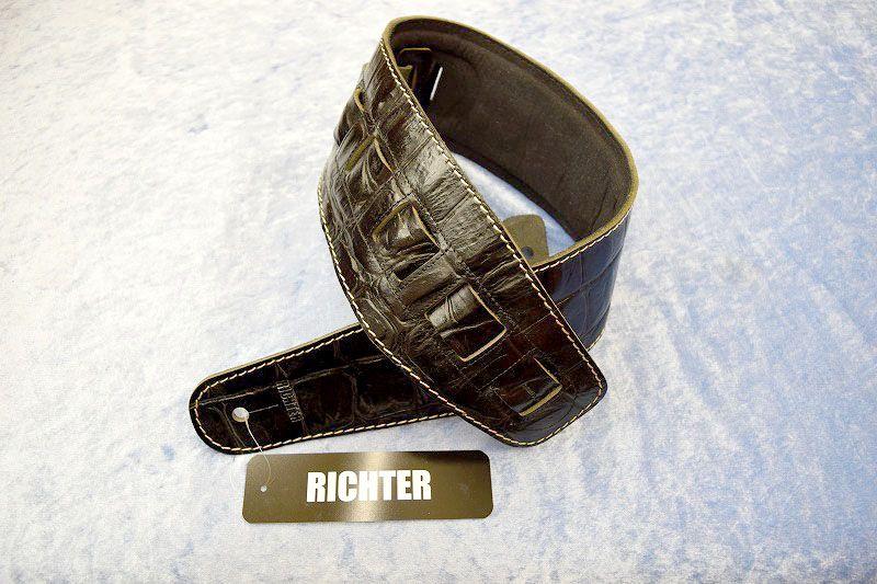 Richter Straps Beaver's Tail Croco Black【新品】【日本総本店在庫品】