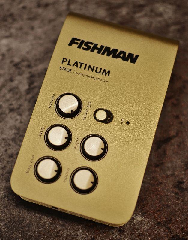 FISHMAN ''Platinum Stage EQ/DI Analog Preamp''【新品】【日本総本店在庫品】