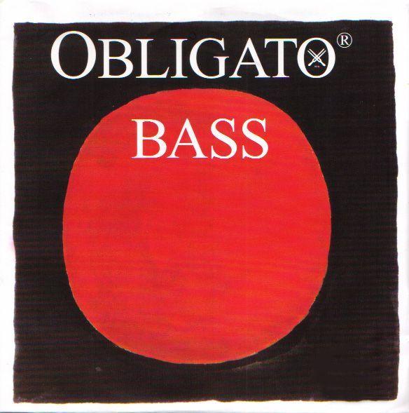 送料無料 シンセティックコアの粘り強い音色が特徴 永遠の定番 Pirastro ''OBLIGATO 4E 春の新作 BASS'' 日本総本店在庫品 新品