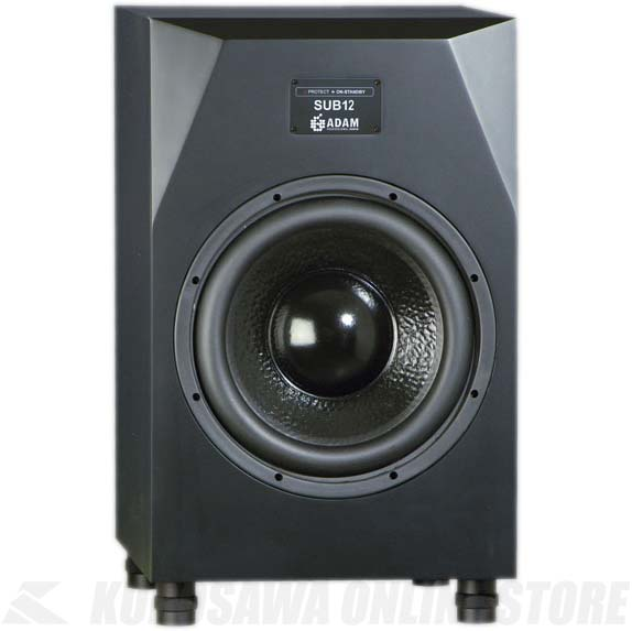 ADAM Audio Subwoofer Sub 12 《スピーカー/アクティブ・サブウーファ 12''》【1本】【お取り寄せ商品】【送料無料】【ONLINE STORE】