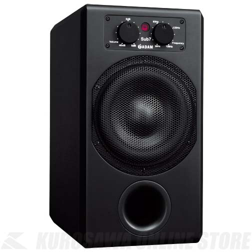 ADAM Audio Subwoofer Sub 7 (Matte Black) 《スピーカー/アクティブ・サブウーファ 7''》【1本】【お取り寄せ商品】【送料無料】【ONLINE STORE】