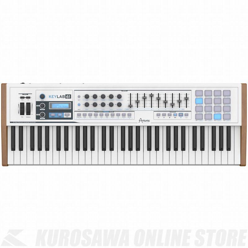ARTURIA KEYLAB 61 (MIDIコントローラー/ハイブリッドシンセサイザー)【ONLINE STORE】