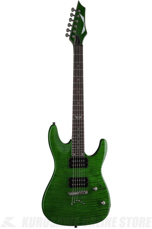Dean Custom C350 (Trans Green)[C350 TGR]《エレキギター》【送料無料】【ONLINE STORE】